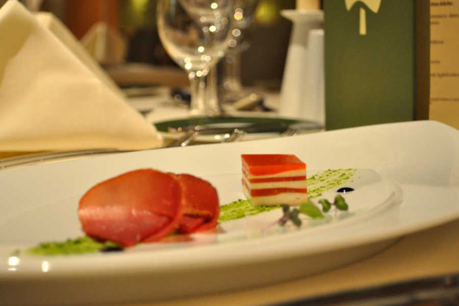 Kulinarik - Menü - Symbolfoto